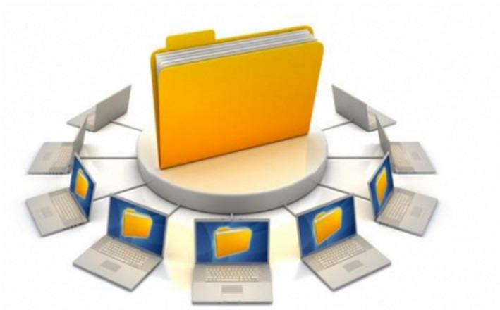 Correspondence with files and computer