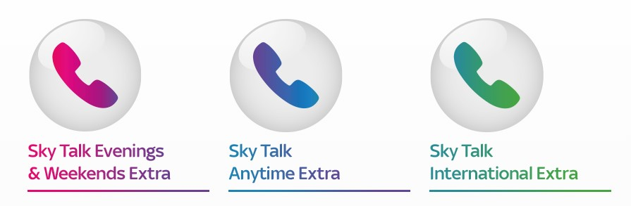 sky talk extra phones