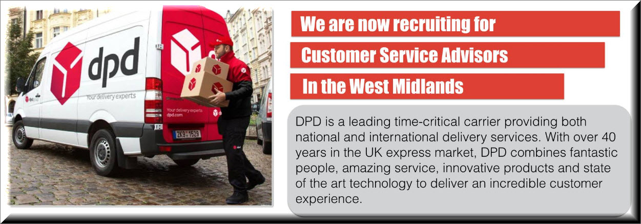 Customer Services Centre based in Smethwick