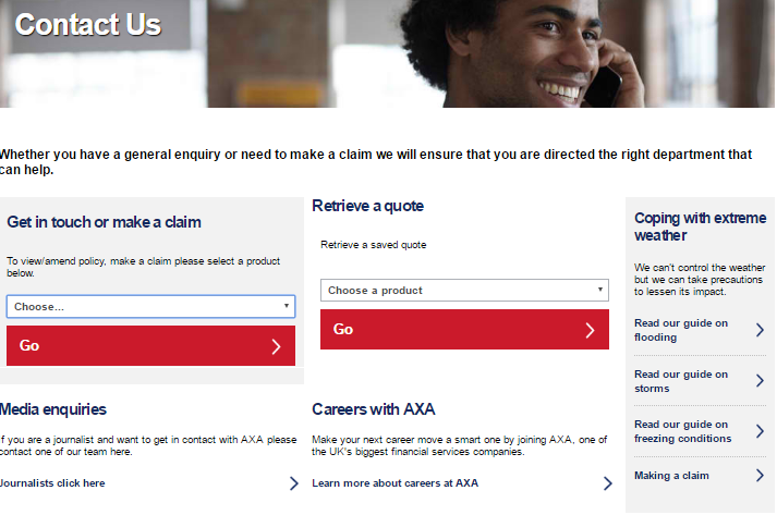 Axa insurance customer service contact number help 0845 - Chrysler corporate office phone number ...