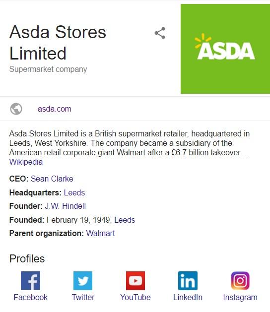 asda contact