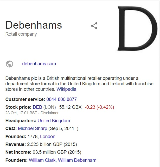 debenhams-information-card
