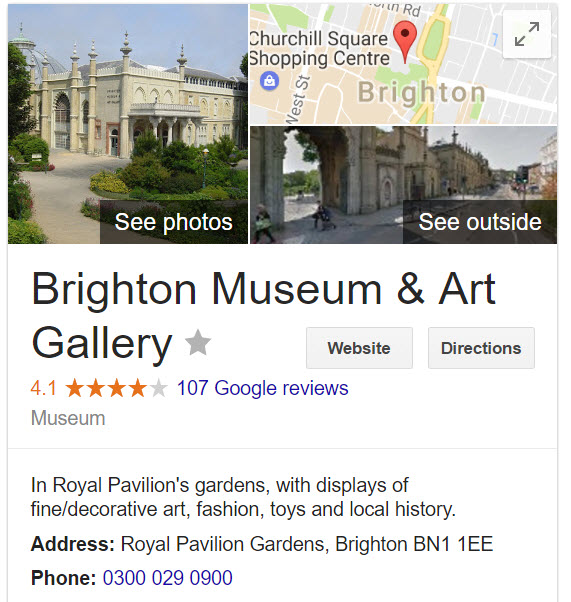 brightonmuseums contact info