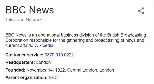 contact bbc news