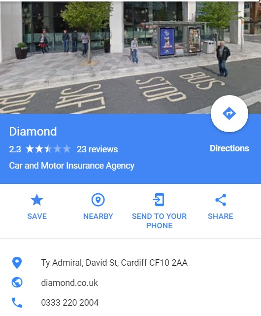 Diamond Car Insurance Contact Number Free