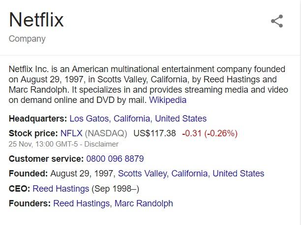 netflix contact information