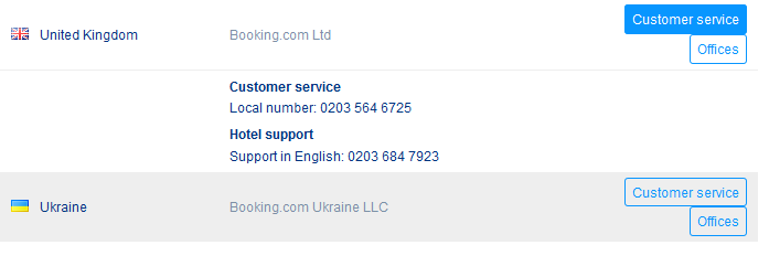 Contact Bookingcom Customer Service