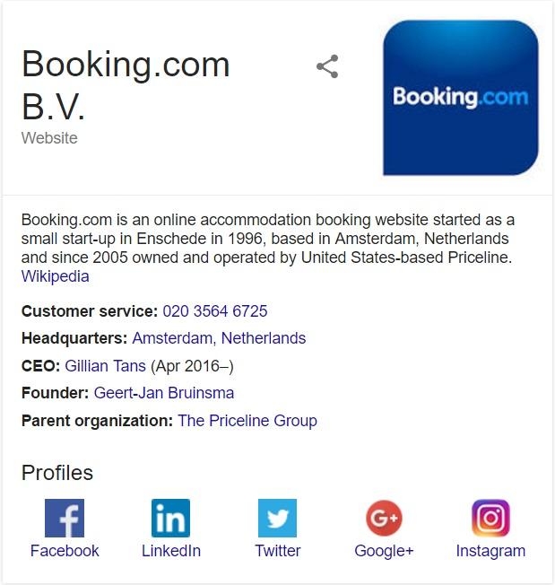 contact booking.com