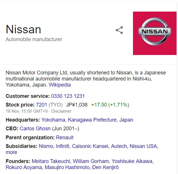 contact nissan