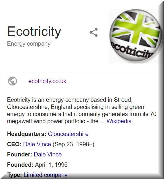 Ecotricity Energy company info