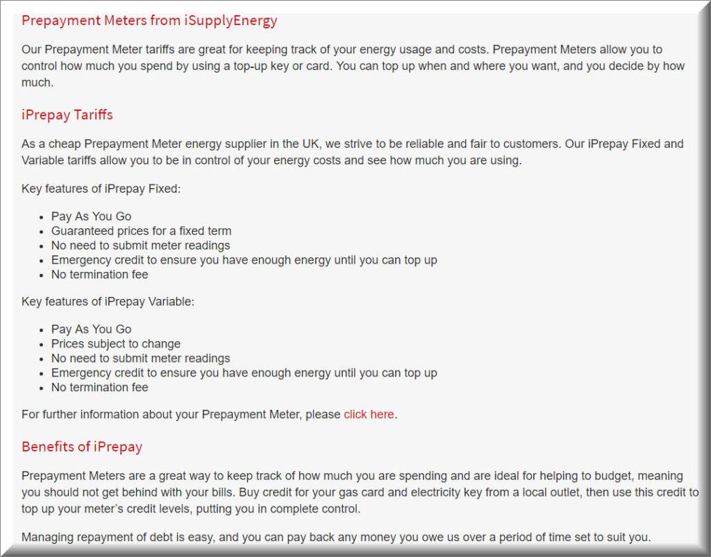 Budget Energy Top Up >> Prepayment Meter Isupplyenergy Uk Customer Service Contact Numbers