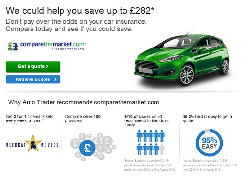Car and Truck Insurance at Autotrader UK