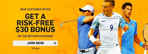 No Deposit Bonus Promotion on Betfair