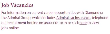 diamond insurance job vacancies
