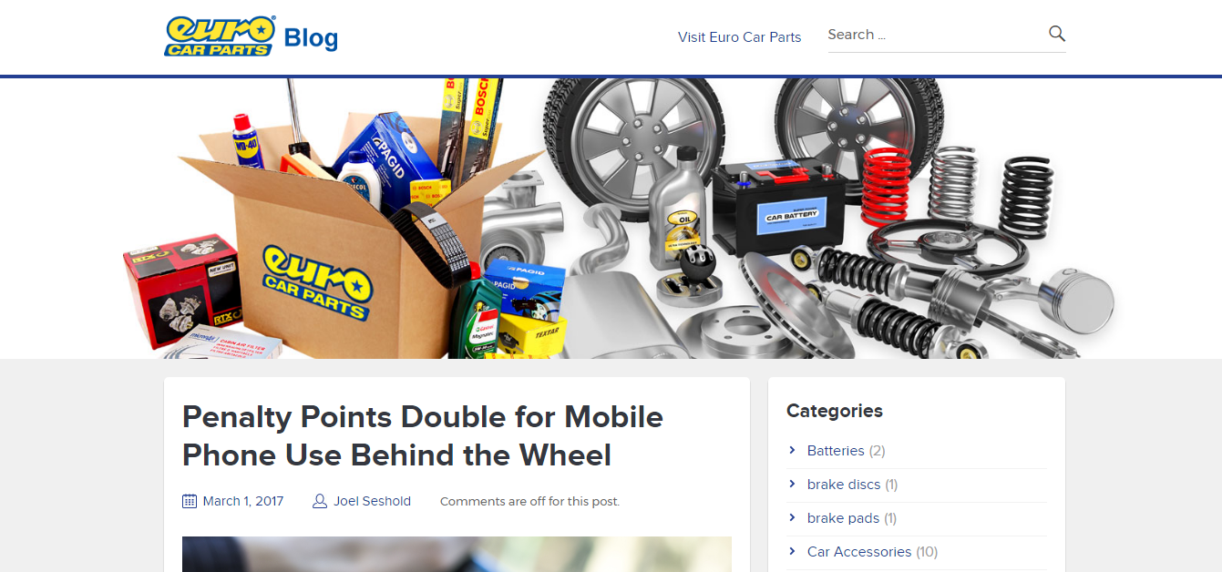 euro car parts blog