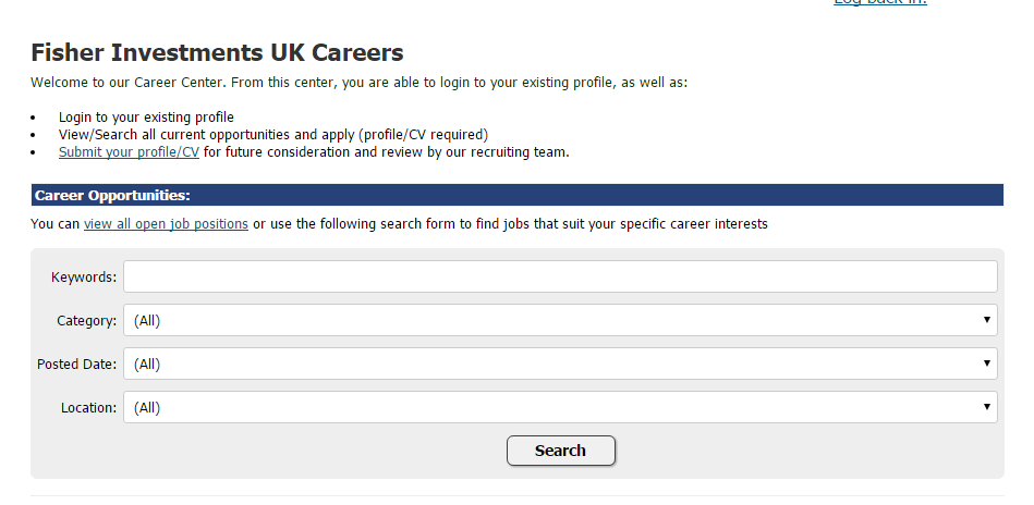 fisher investments uk careers