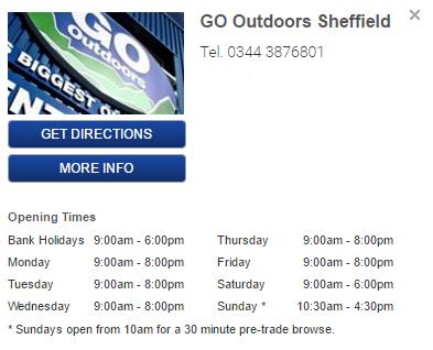 go outdoors head office