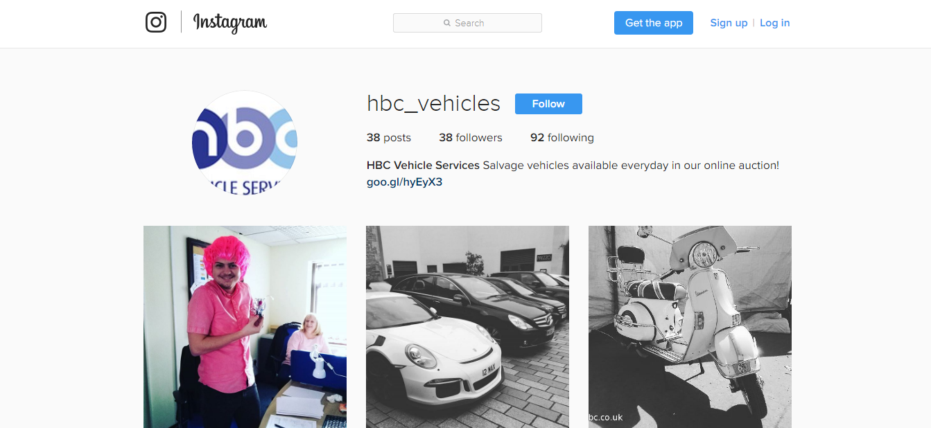 hbc salvage instagram