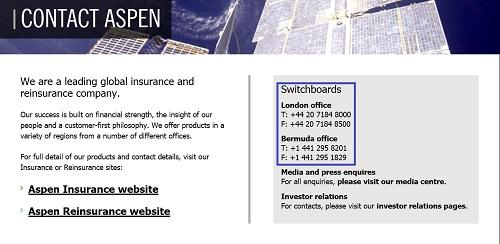 Aspen_Insurance_Customer_Service_Contact_Information