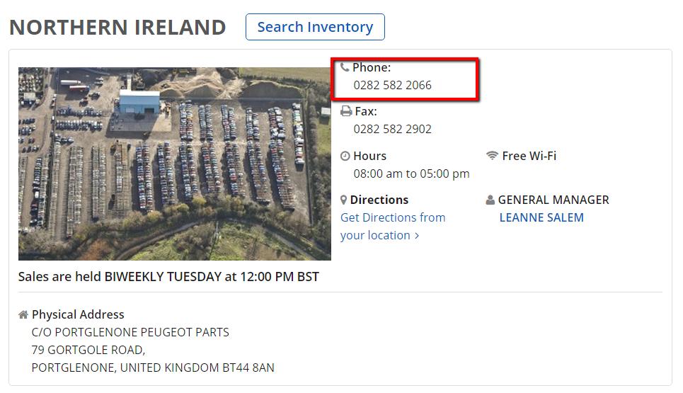 Copart_Northern_Ireland_Customer_Service_Number