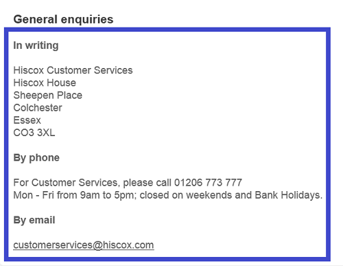 Hiscox_insurance_customer_service_contact_information