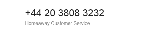 homeaway_customer_service_phone_number