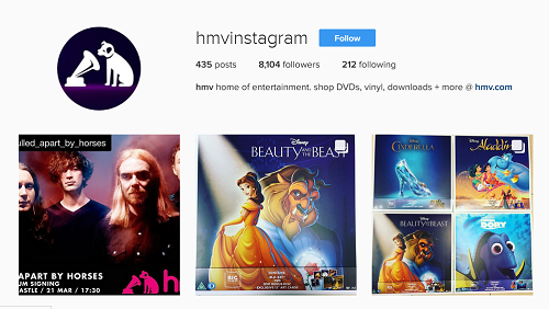 instagram_page_of_HMV