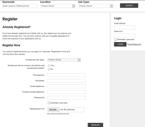 jobs_login_and_register_on_Matalan