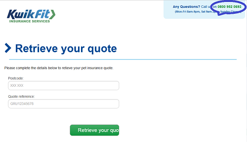 pet_insurance_retrieve_quote_helpline_at_Kwik_Fit