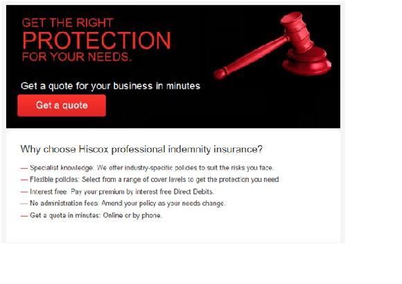 professional idemnity insurance information