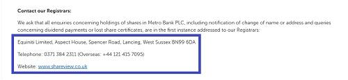 registrars_for_metro_bank
