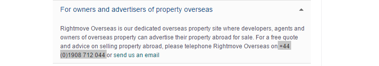 rightmove quote and advice