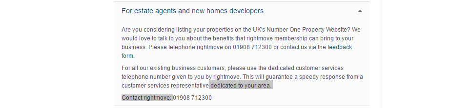 rightmove new home developers and estate agents