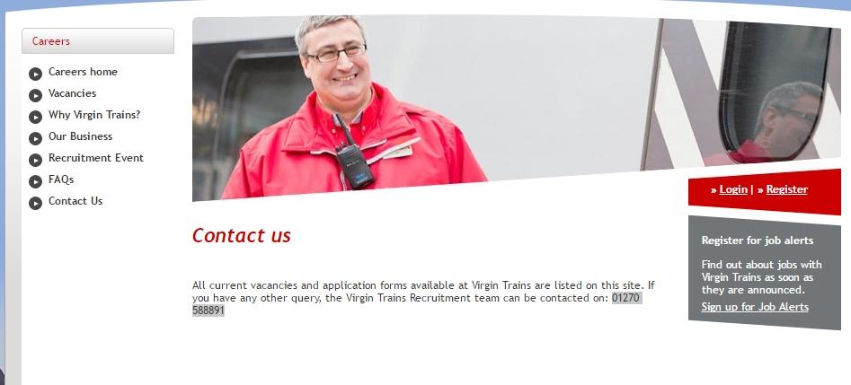 virgin trains careers