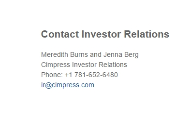 vistaprint investor relations