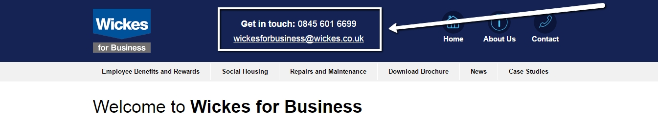 wickes for business