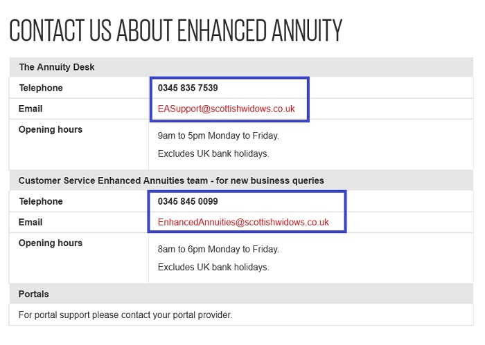 Enhanced_Annuity_contact_information