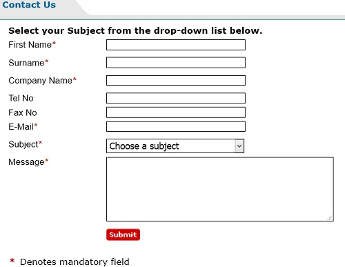 online_contact_form
