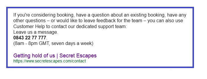 secret_escapes_customer_service