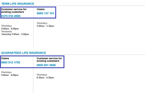 term life and guaranteed life insurance