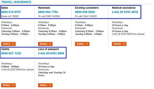 Saga Travel Insurance Contact Number