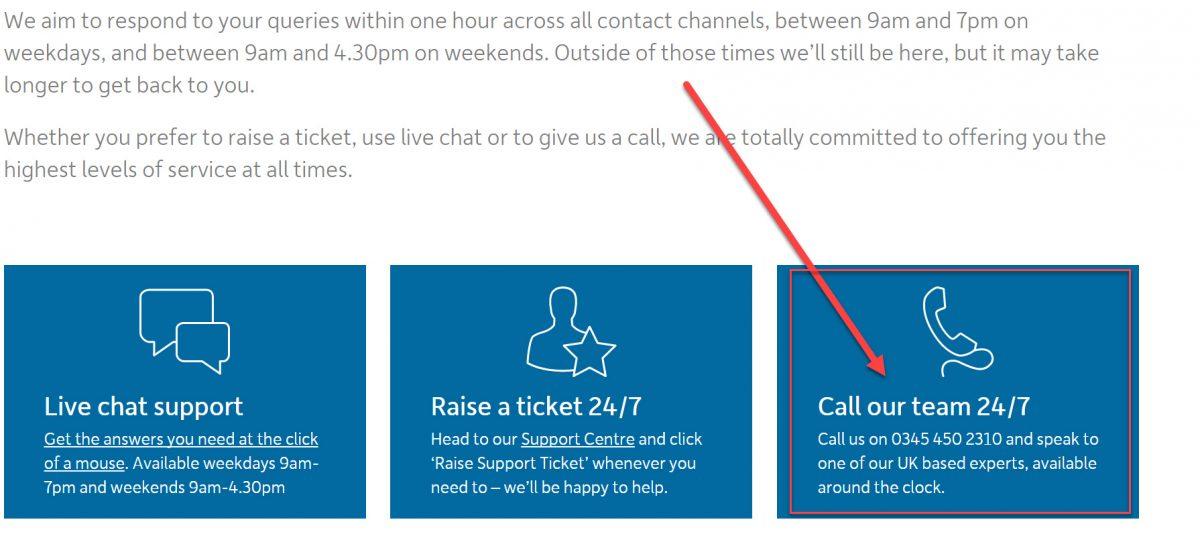 123 Reg UK Direct Phone Numbers