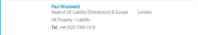 tokio marine kiln head of uk liability (distribution) & europe