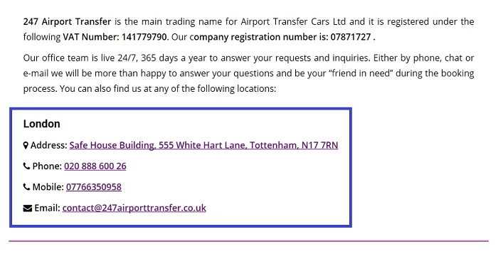 247_Airport_Transfer_customer_service_contact_number