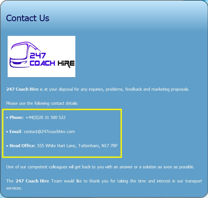 247_Coach_Hire_customer_service_contact_number