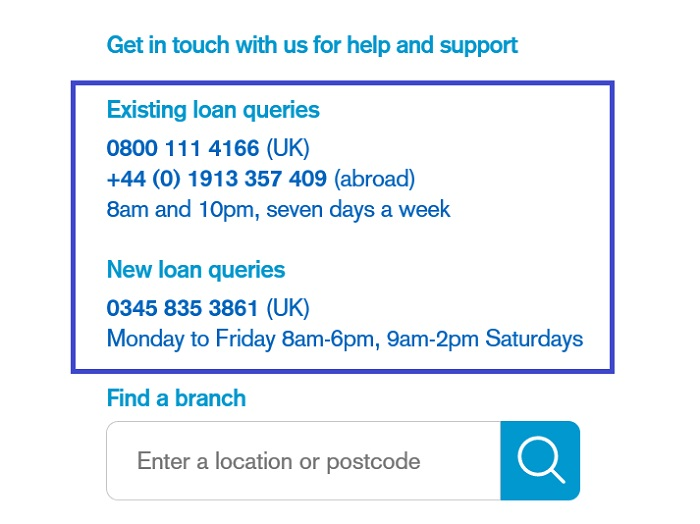 TSB_Existing_Loan_Queries_Free_Number