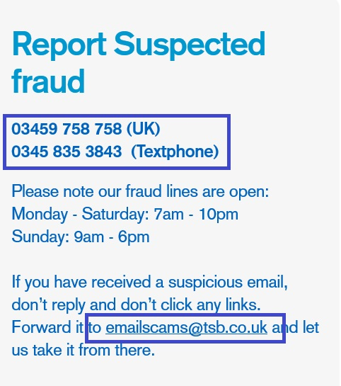 TSB_fraud_prevention_centre_number