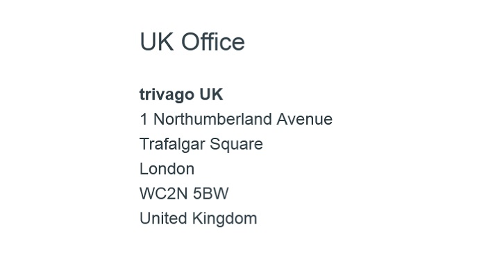 Trivago_UK_Office_Address