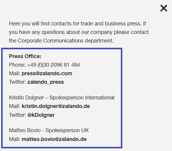 Zalando_corporate_communication_number