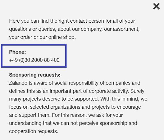 Zalando_corporate_contacts_number